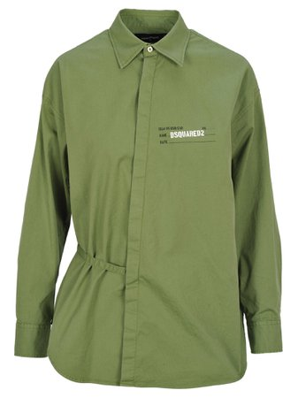 D Squared Dsquared Wrap Style Shirt