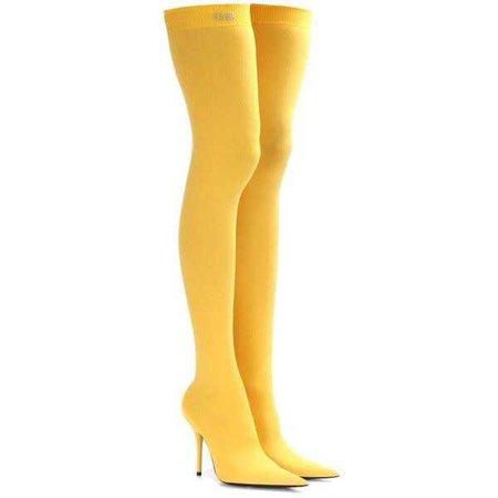 Balenciaga Knife Over-the-Knee Boots ($1,075)
