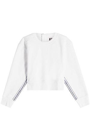 Train Cotton Sweatshirt Gr. XS