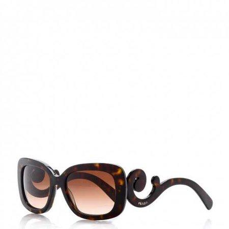 PRADA Baroque Sunglasses SPR 27O Tortoise 258272