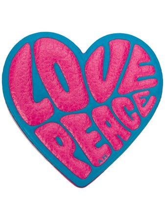 Anya Hindmarch Love and Peace sticker £45 - Fast Global Shipping, Free Returns