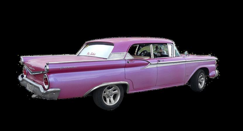 vintage pink car transparent - Google Search