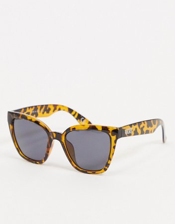 Vans Hip Cat sunglasses in tortoise | ASOS
