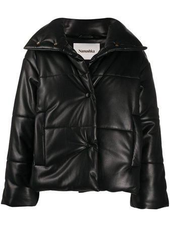 Nanushka Quilted Puffer Jacket Aw20 | Farfetch.Com