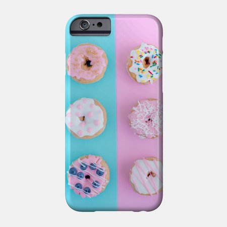 Go Nuts For Donuts! - Donuts Lover - Phone Case | TeePublic