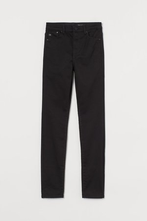 Shaping High Jeans - Black