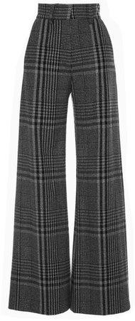Long plaid pants