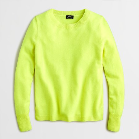 J.Crew: Long-sleeve Everyday Cashmere Crewneck Sweater For Women