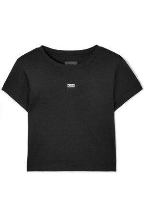 Kith - Mulberry Printed Slub Jersey T-shirt - Black