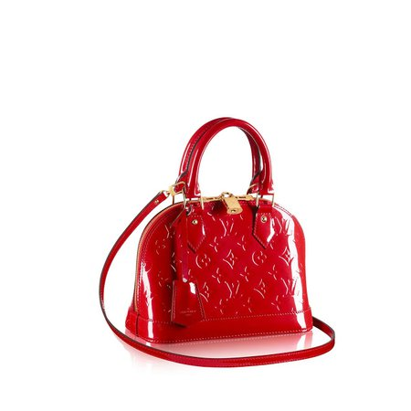 Louis Vuitton Red Patent Leather Bag