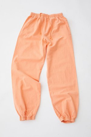 iets frans… Washed Poplin Jogger Pant   Urban Outfitters