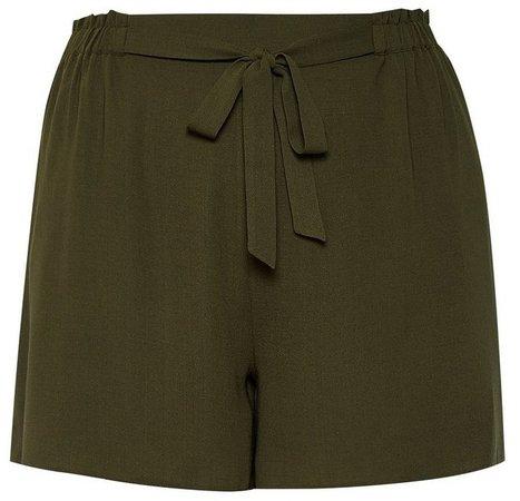 **DP Curve Khaki Shorts
