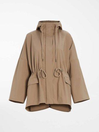 "Parka in water-resistant technical fabric, turtledove - ""LODI"" Max Mara"