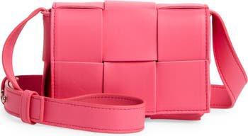 Mini Cassette Intrecciato Leather Crossbody Bag | Nordstrom