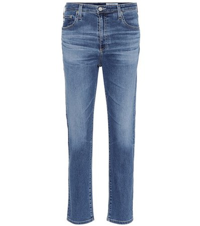 The Isabelle high-rise cropped jeans