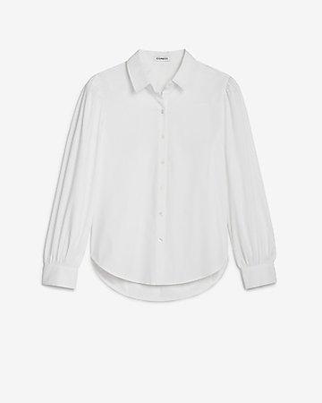 Button-up Menswear Shirt | Express | Express