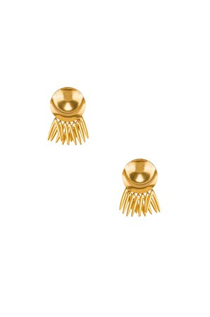Armor Fringe Earrings