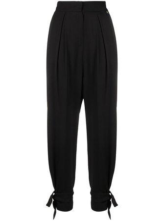 LIU JO Tied Cuff Trousers - Farfetch
