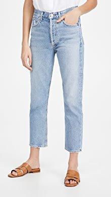 AGOLDE Nico High Rise Slim Fit Jeans   SHOPBOP