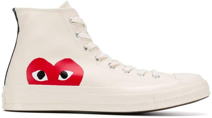 x Converse Chuck Taylor high-top sneakers