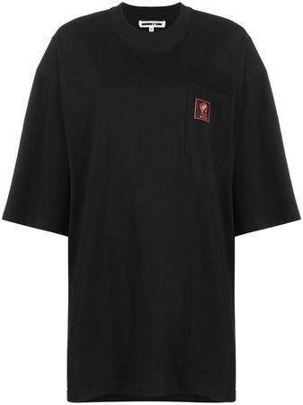 McQ Alexander McQueen Oversized Logo Print T-shirt - Farfetch