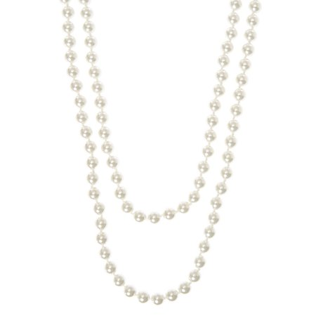 8MM Wrapped In Pearls Necklace | Claire's US
