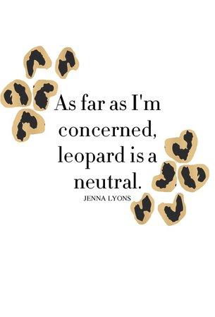 Animal Print Text