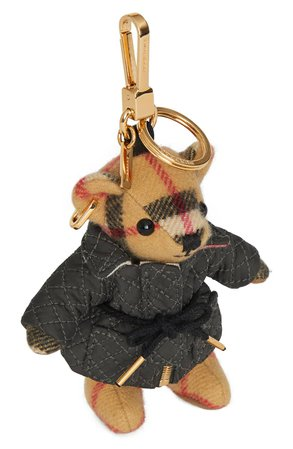 Burberry Thomas Bear Quilted Coat Charm | Nordstrom