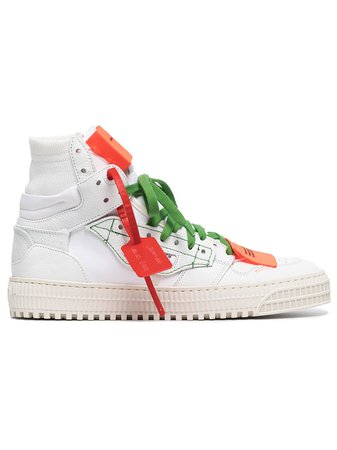 Off-White White Off Court 3.0 Leather Sneakers - Farfetch