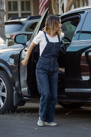 The Rachel Bilson-Approved Way to Wear Overalls - Celebrity Style Guide