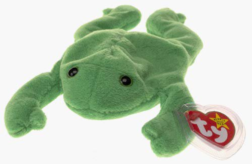 Amazon.com: Ty Beanie Babies - Legs the Frog: Toys & Games