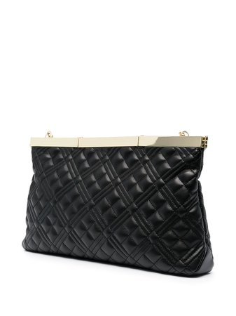 Love Moschino Quilted faux-leather Crossbody Bag - Farfetch