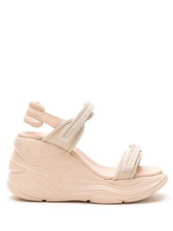 Sarah Chofakian Leather Sarah Comfort Sandal - Farfetch