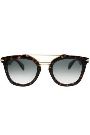 Rag & Bone Veska Square Unisex Sunglasses | Urban Outfitters