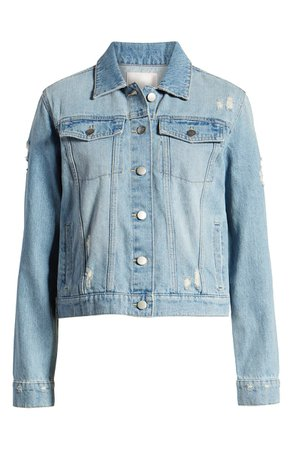 Rachel Parcell Denim Jacket (Nordstrom Exclusive) | Nordstrom