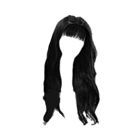 hair with bangs png | @marionette-official