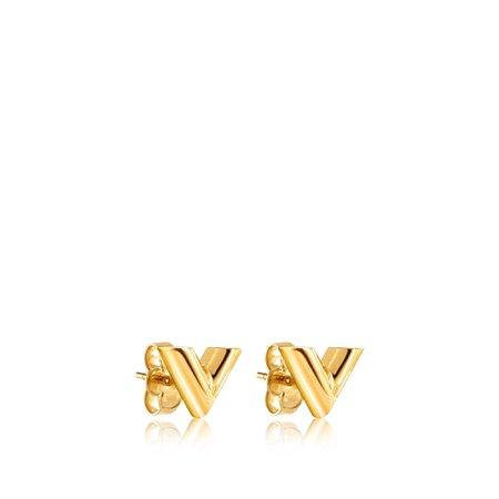 Essential V Stud Earrings - Accessories | LOUIS VUITTON ®