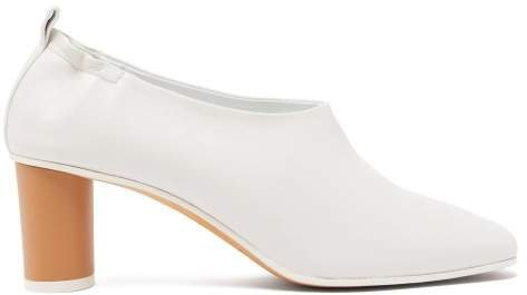 Gray Matters - Micol Leather Pumps - Womens - White