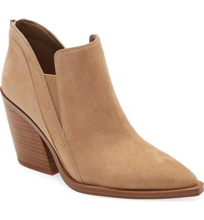 Vince Camuto Gradina Block Heel Bootie (Women)   Nordstrom