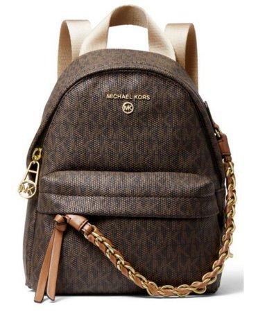 Michael Kors Signature Slater Extra Small Convertible Messenger Backpack & Reviews - Handbags & Accessories - Macy's