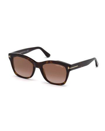 TOM FORD Lauren 02 Square Sunglasses | Neiman Marcus