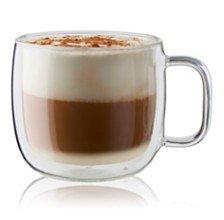 J.A. Henckels ZWILLING Sorrento Plus Cappuccino Glass Mug & Reviews - Bar & Wine - Dining - Macy's