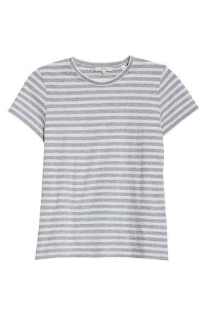 Vince Essential Stripe Pima Cotton T-Shirt | Nordstrom