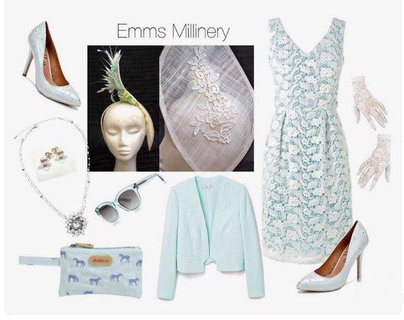 Carmen M by Emms Millinery