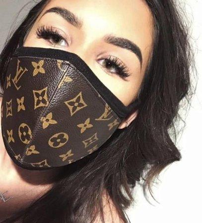 Louis voitton face mask 😷