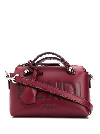 Red Fendi leather tote bag 8BL145AC9L - Farfetch