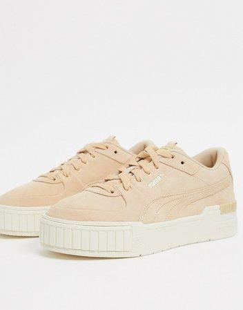 Puma Cali Sport sneakers in beige | ASOS