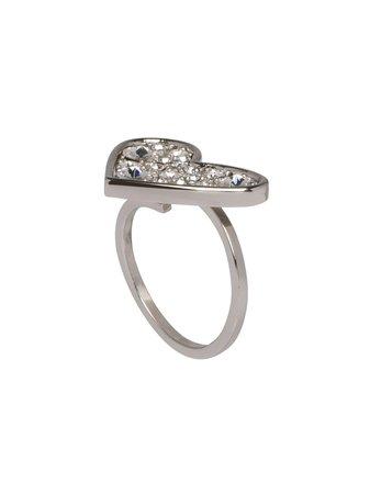 Miu Miu Micro Jewel Heart Ring - Farfetch
