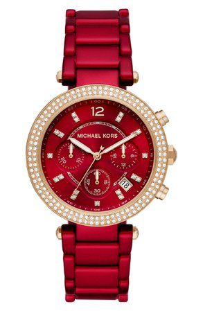 Michael Kors Parker Chronograph Bracelet Watch, 39mm | Nordstrom