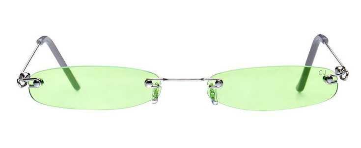 christianah Jones green sunglasses